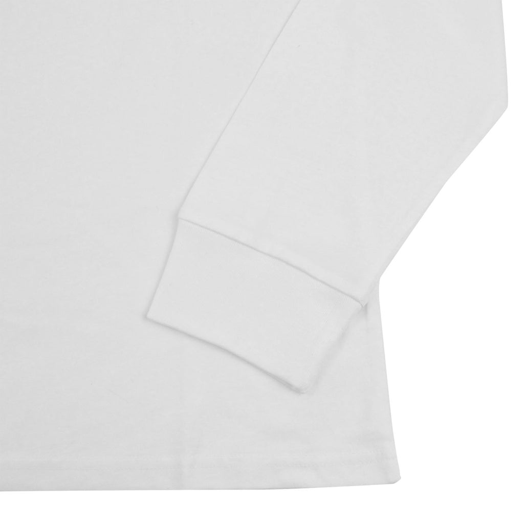 Carhartt WIP Pocket L/S T Shirt in White - Cuff
