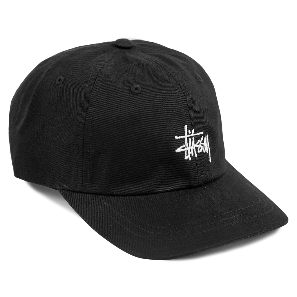 Stussy Stock Low Pro Cap in Black