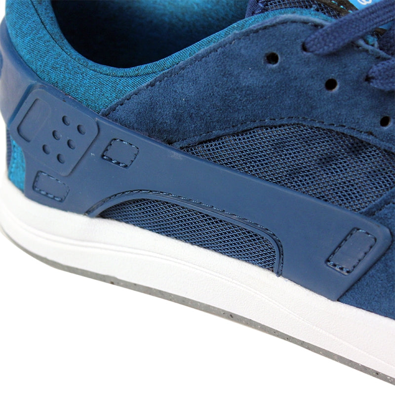 Nike SB Eric Koston Huarache Shoes in Blue Force / Blue Lagoon / White - Panel