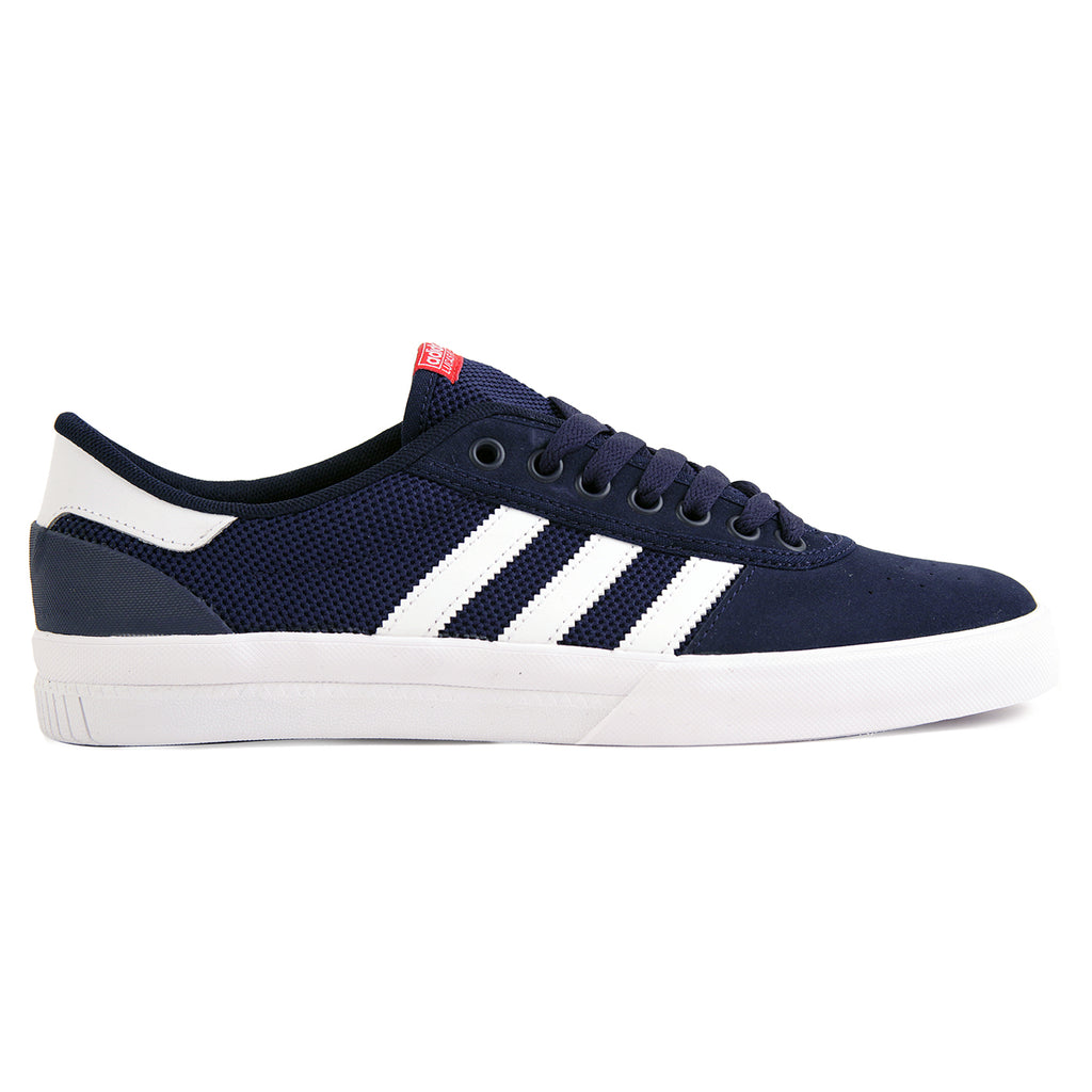 Adidas Lucas Premiere ADV Shoes in Collegiate Navy / White / Scarlet