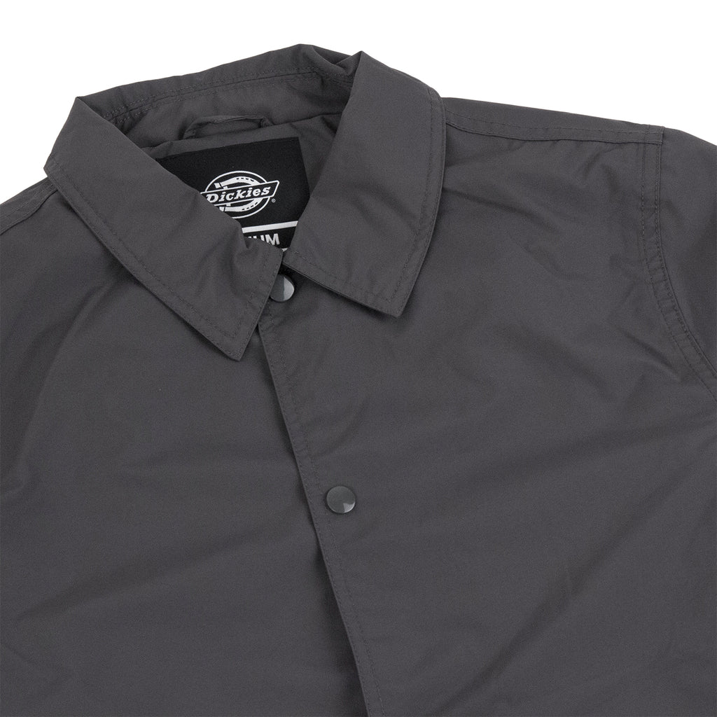 Dickies Torrance Jacket in Charcoal Grey - Detail