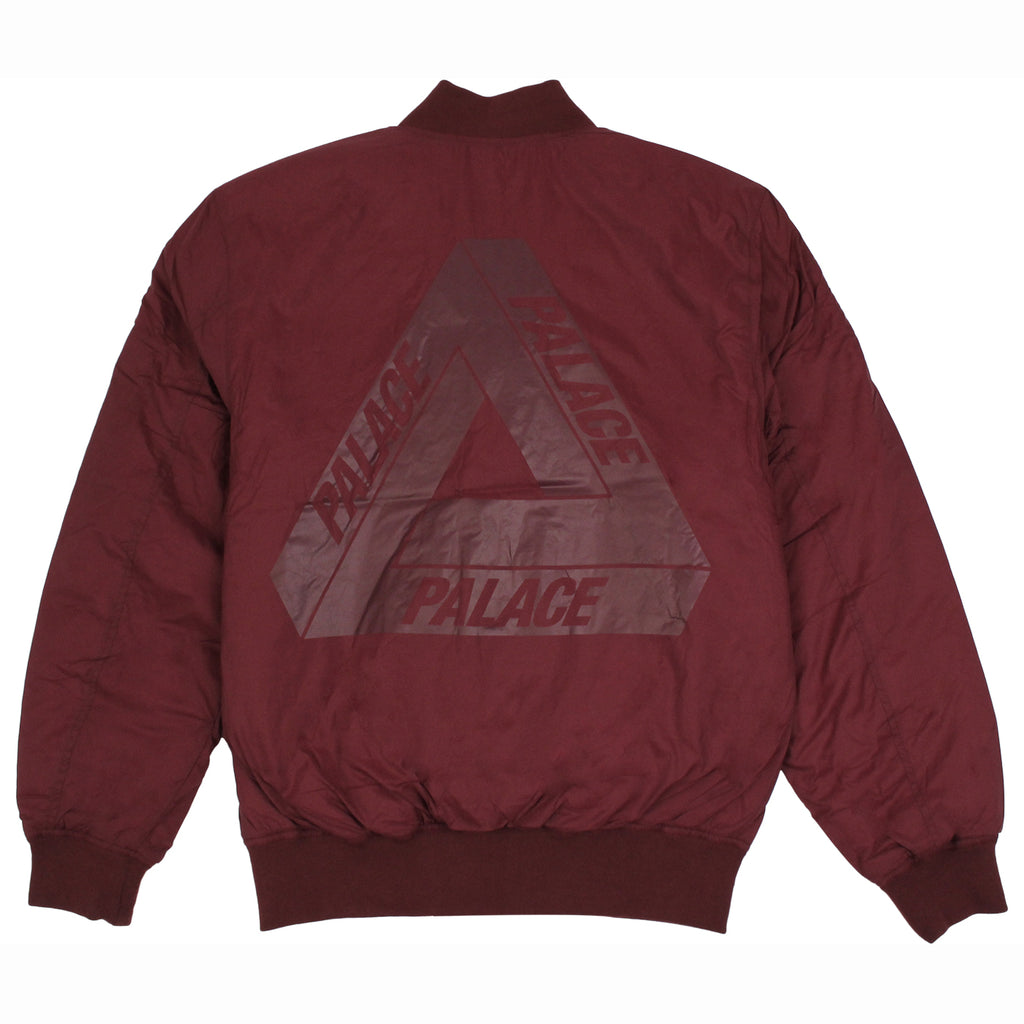 Palace Thinsulate Bomber Jacket in Cordovan - Back