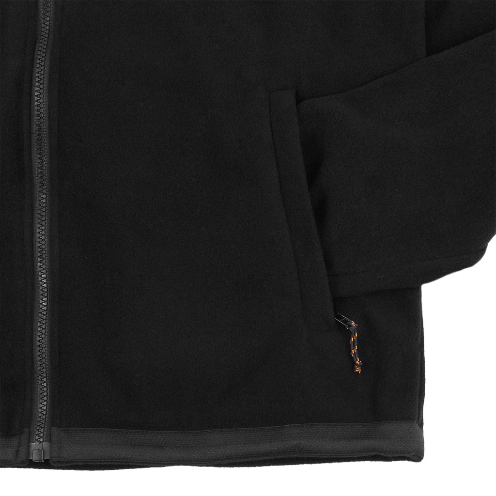 Polar Skate Co Halberg Jacket in Black / Orange - Cuff