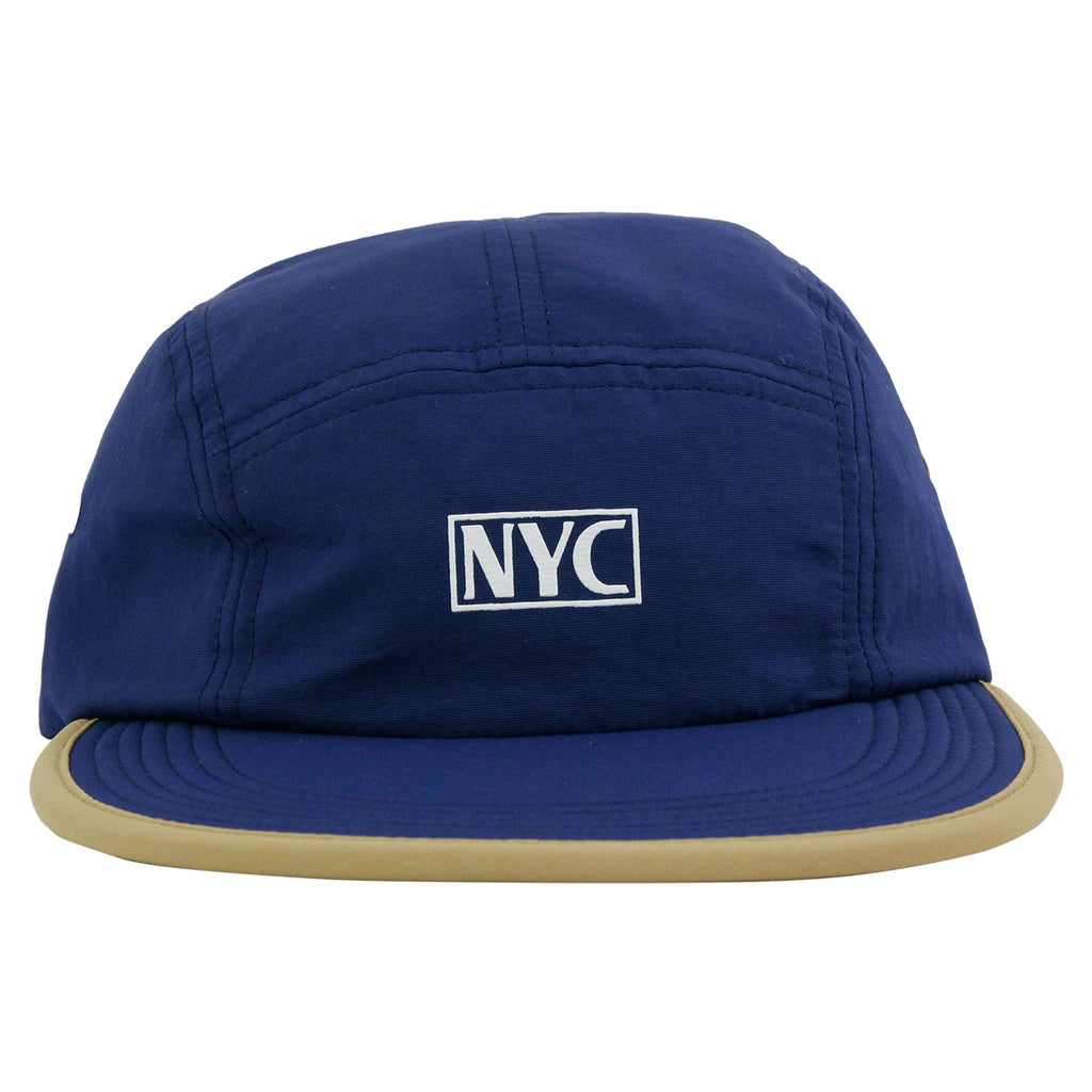 5Boro 5B VHS 5 Panel Camp Cap in Navy - Front