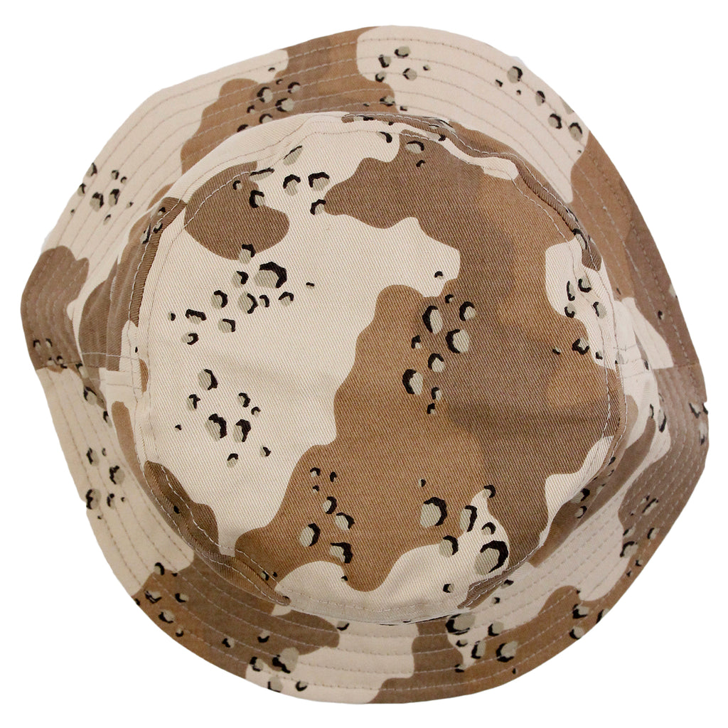 Stussy SS Link Bucket Hat in Desert Camo - Top