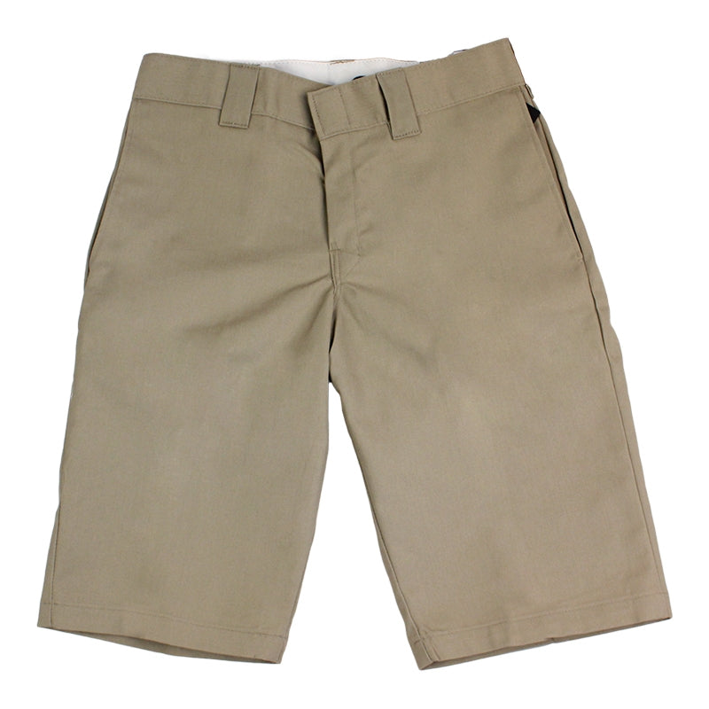 DICKIES SLIM 13 INCH WORK SHORT KHAKI