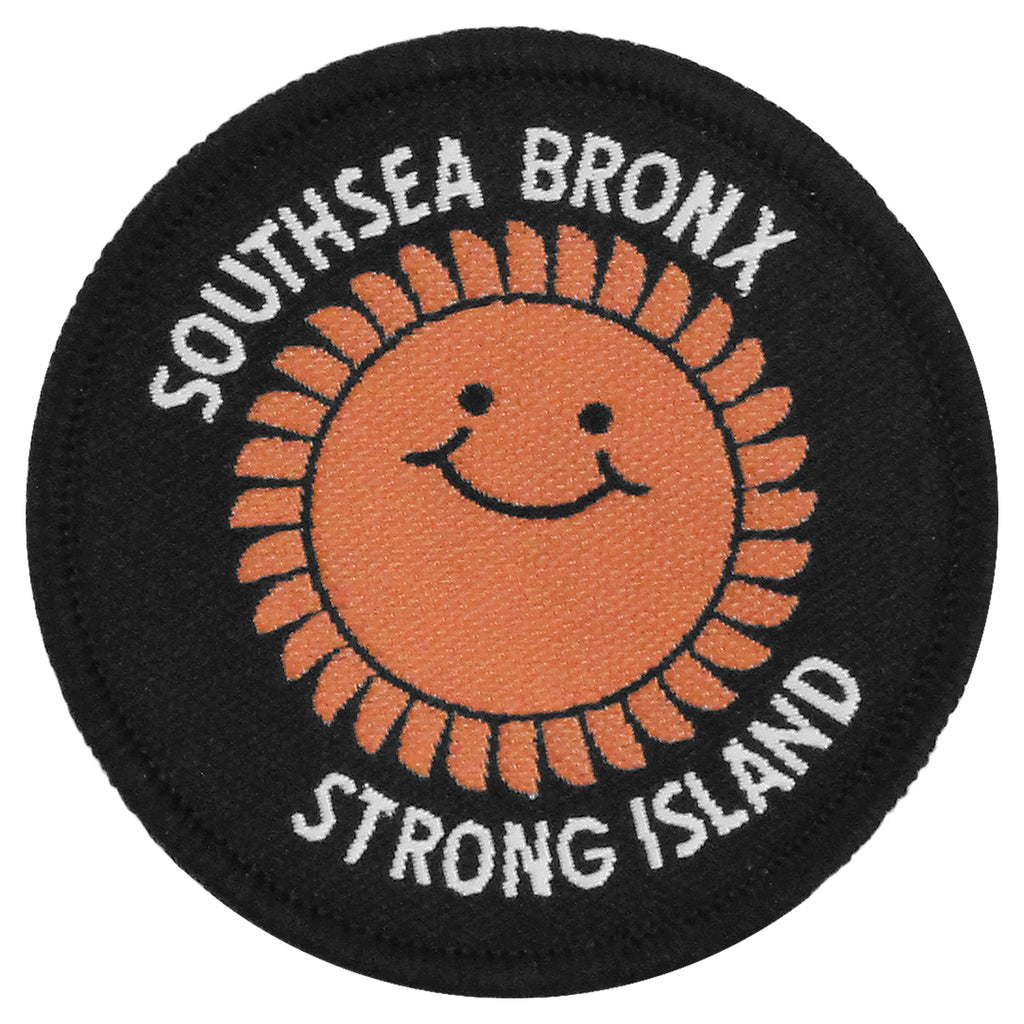Southsea Bronx Strong Island Patch in Black