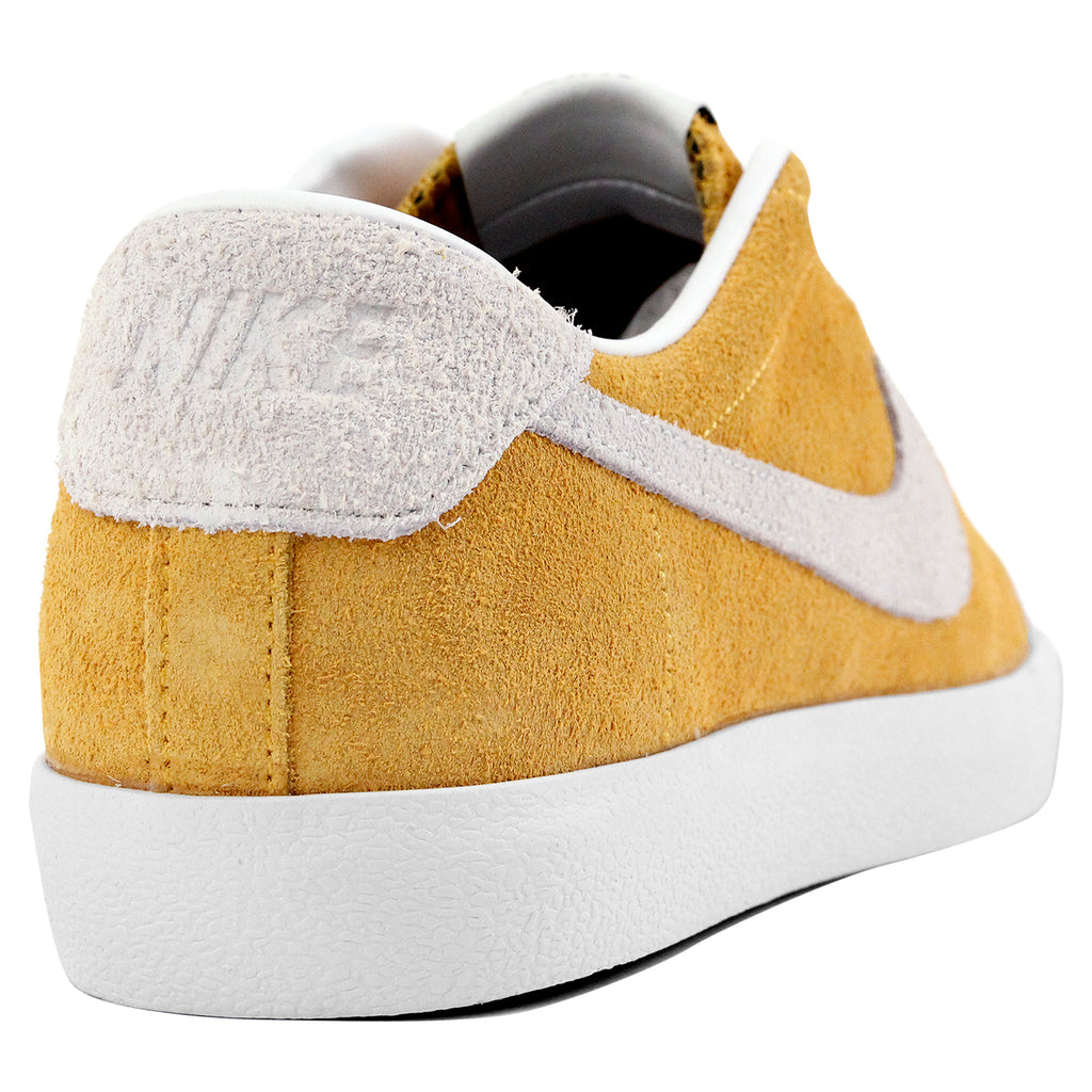 Nike SB Zoom All Court CK Shoes in University Gold / Summit White - Black - Heel