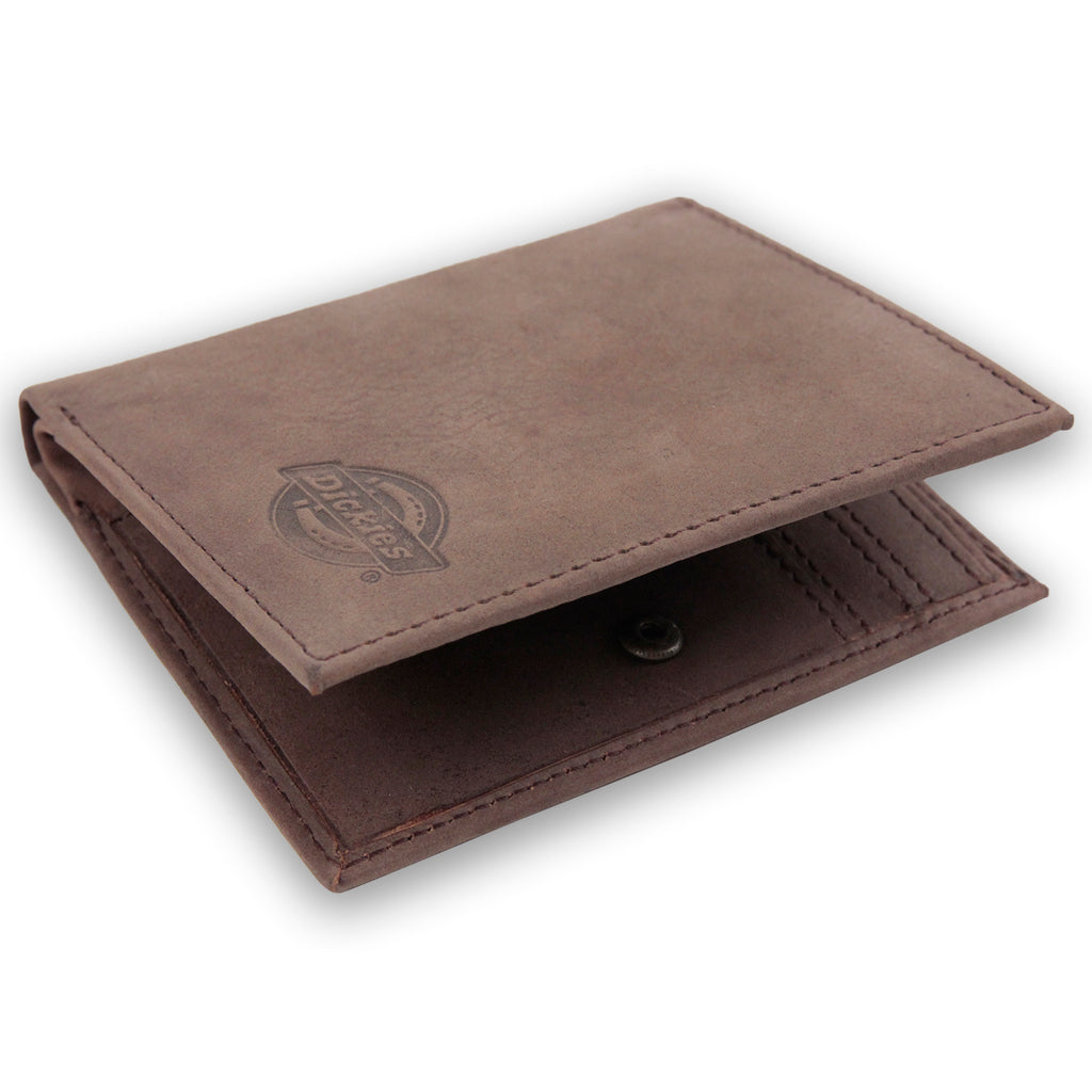 Dickies Ridgeville Wallet in Brown - Detail