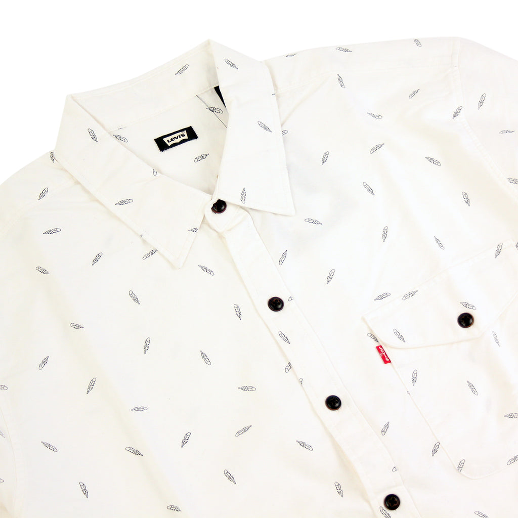 Levi's Skateboarding Collection Reform Shirt in Print White - Detail
