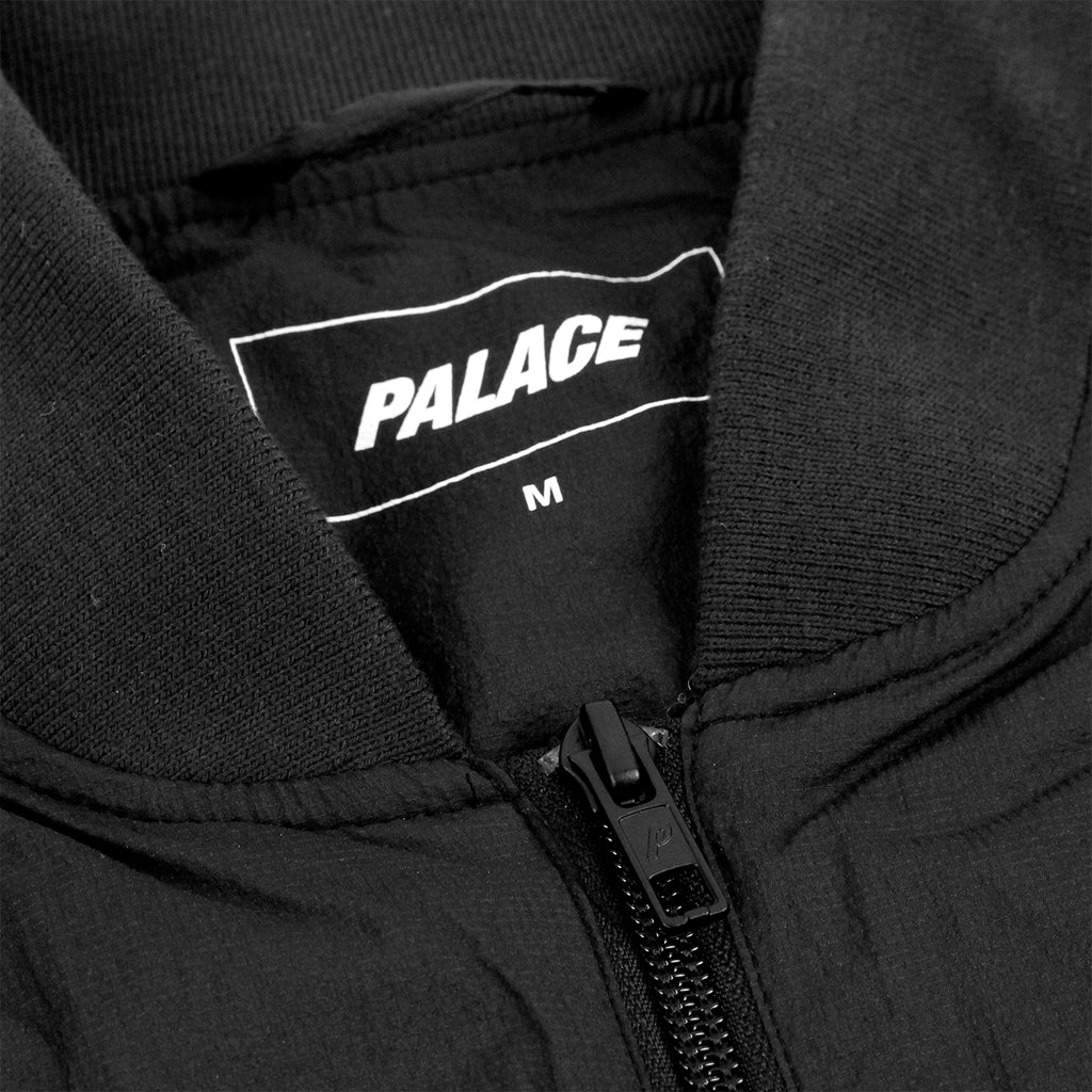 Palace Bomber Jacket in Anthracite - Zip