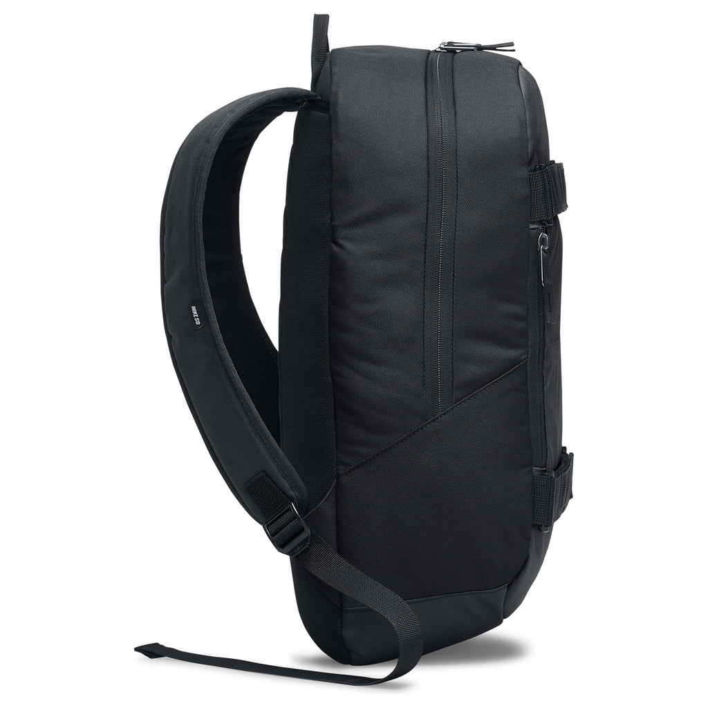 Nike SB Courthouse Backpack in Black / Black / White - Side
