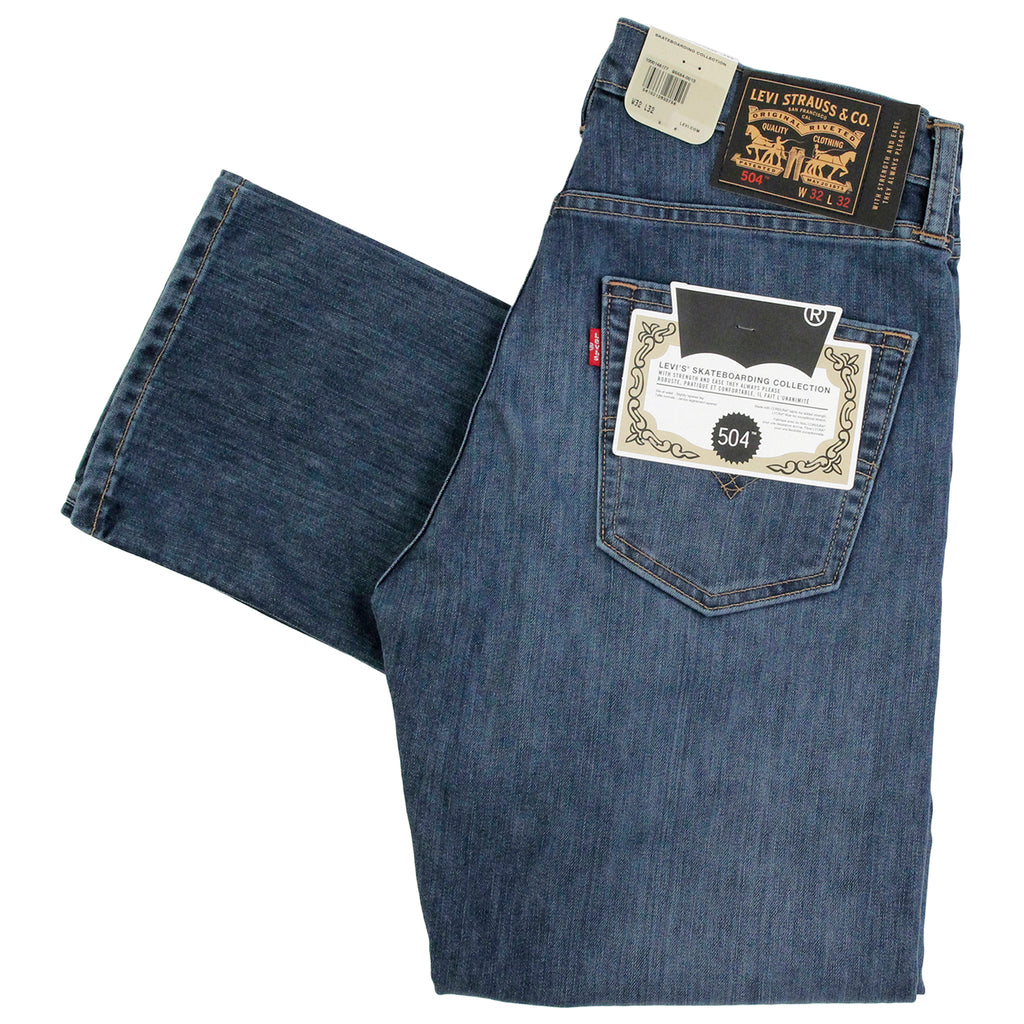 Levis Skateboarding 504 Straight Jeans in Turk