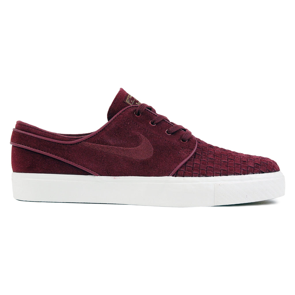Nike SB Stefan Janoski Elite Shoes in Night Maroon / Night Maroon-Ivory-Metallic Gold