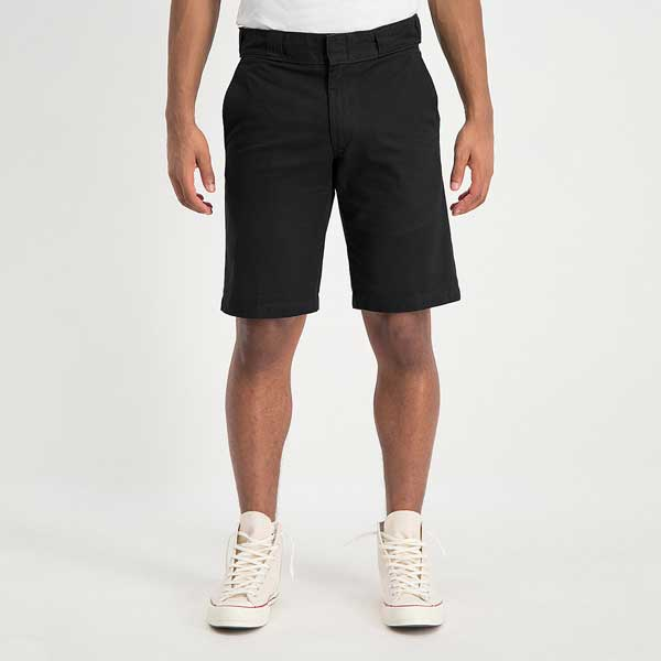 Dickies Vancleve Shorts Black - On model