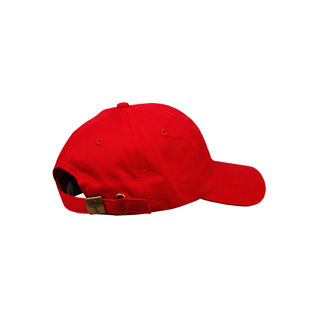 Helas H 6 Panel Cap in Red - Side