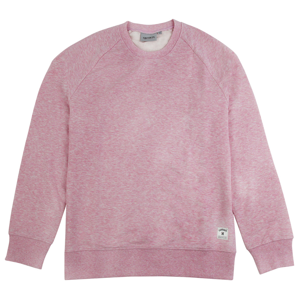 Carhartt Holbrook LT Sweatshirt in Vegas Pink Heather