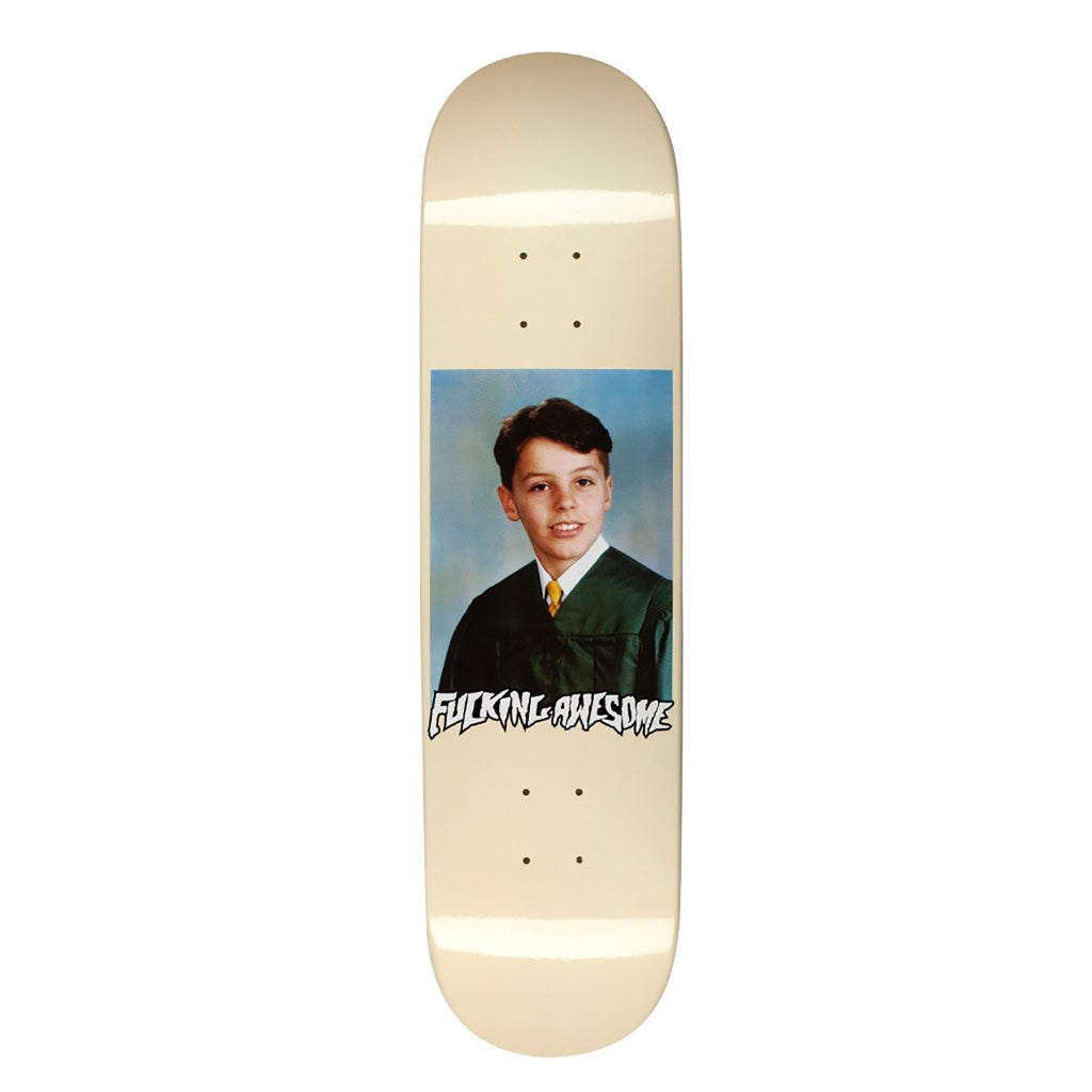 Fucking Awesome Gino Class Photo Dipped Dipped Cream Skateboard Deck in 8.18""