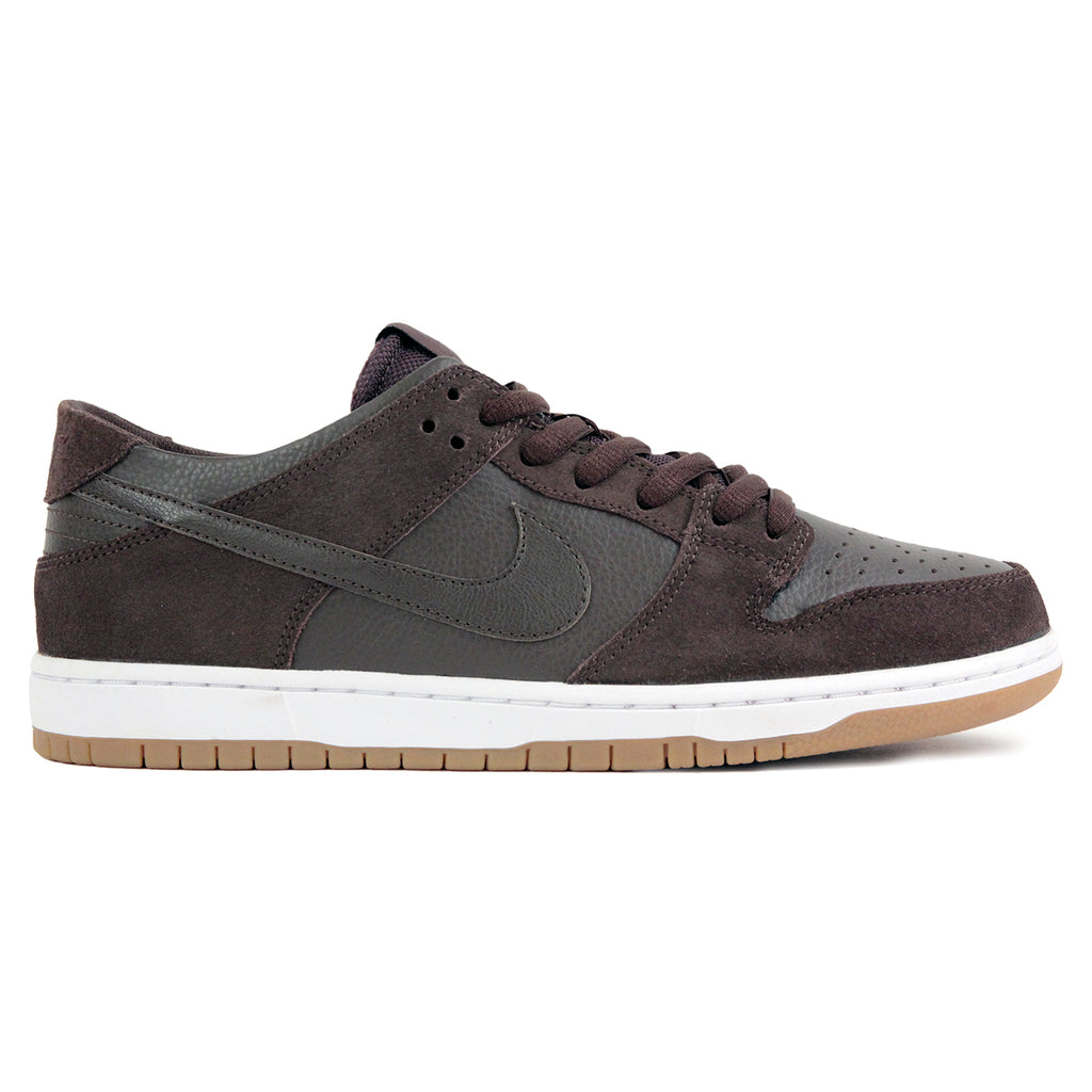 outlet store e5ec1 8cda3 Nike SB Dunk Low Pro Ishod Wair Shoes in Baroque Brown   Baroque Brown -  White