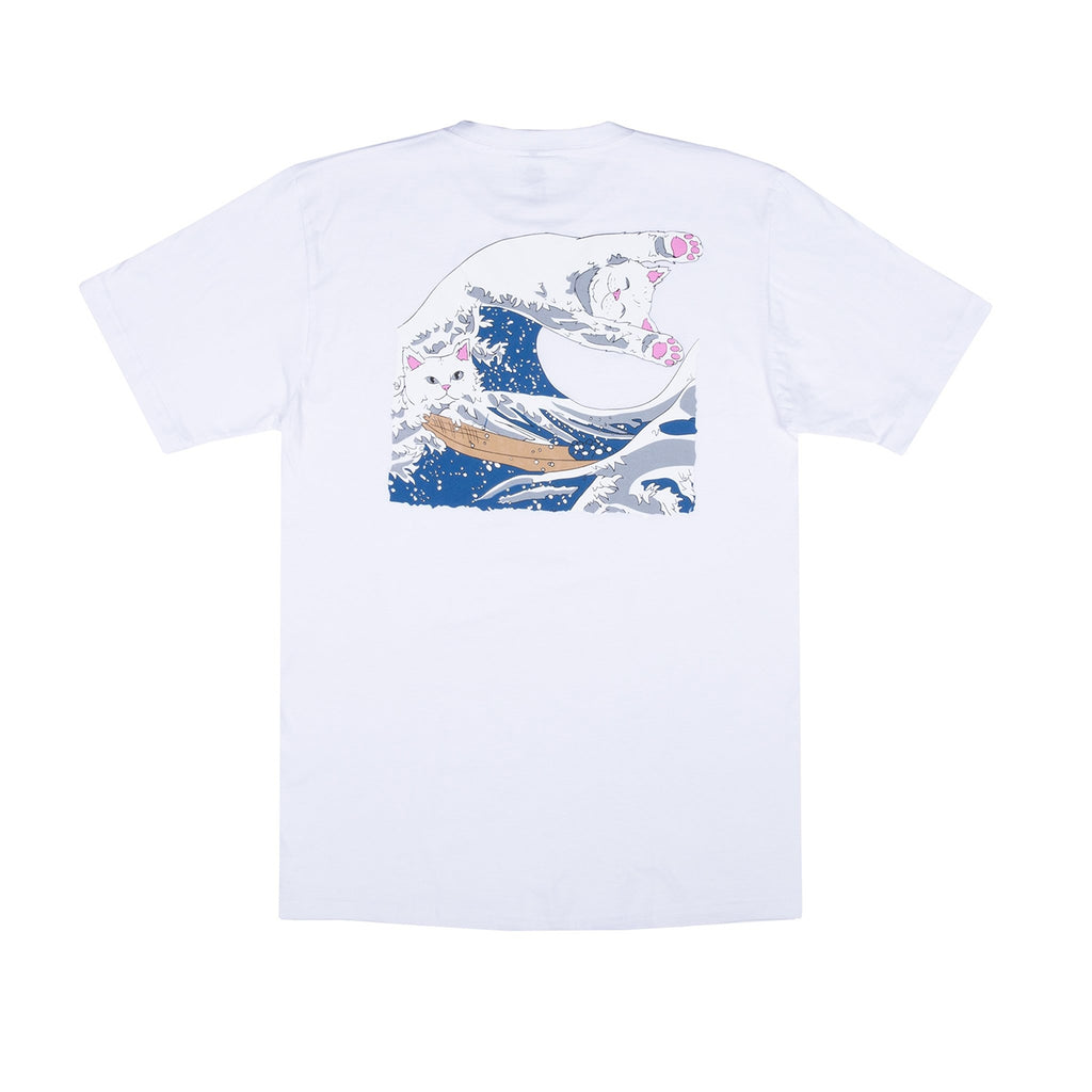RIPNDIP Great Wave T Shirt in White