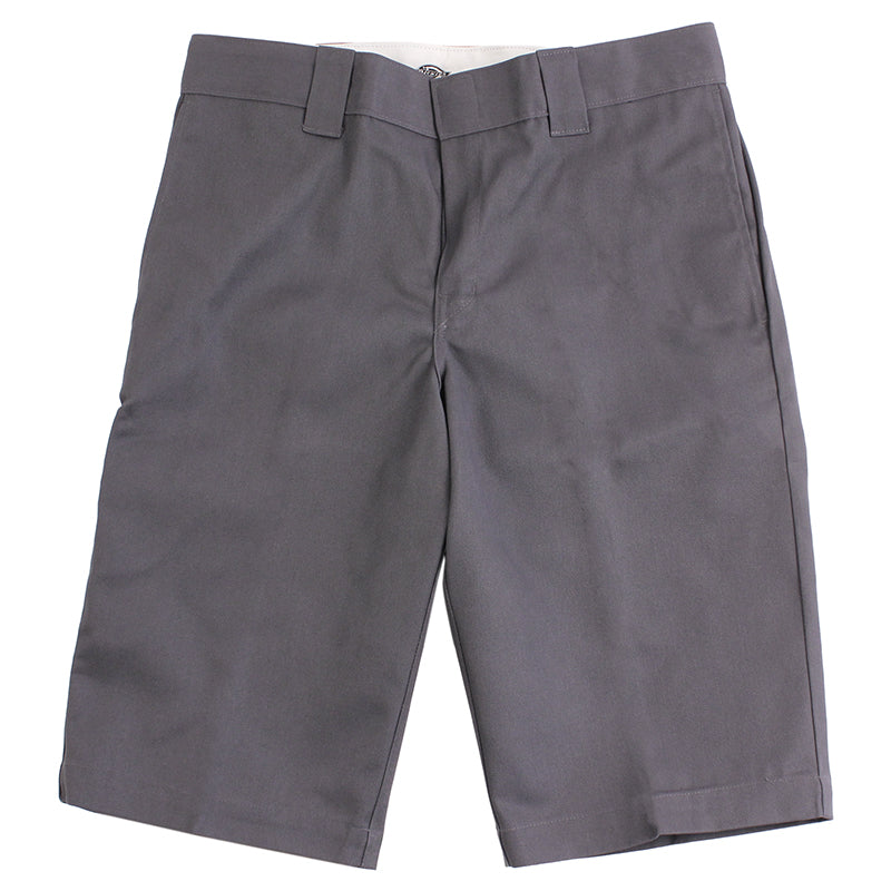 "Dickies 803 Slim 13"" Work Shorts in Charcoal - Profile"