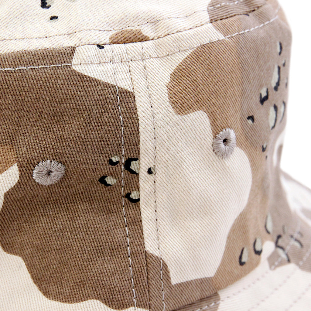 Stussy SS Link Bucket Hat in Desert Camo - Side