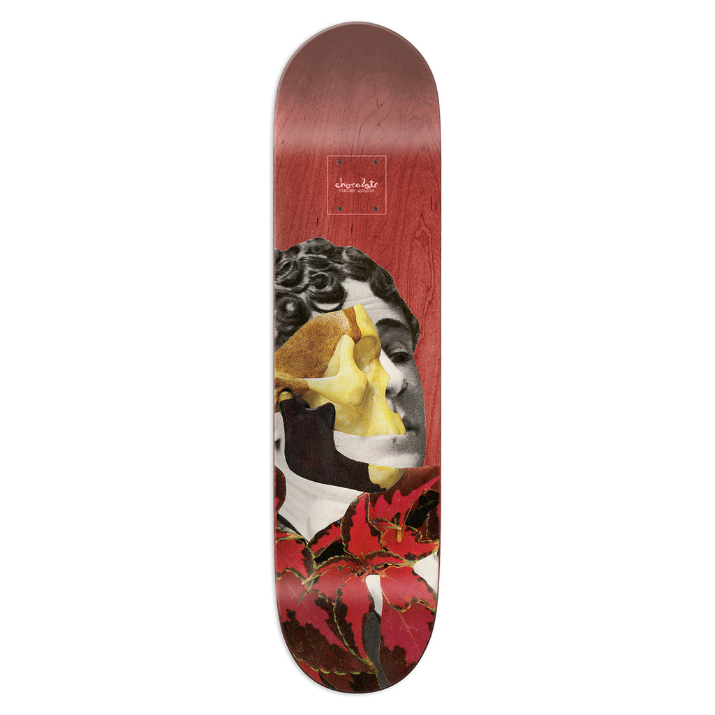 Chocolate Skateboards Dru Collage Vincent Alvarez Skateboard Deck in 8.25""