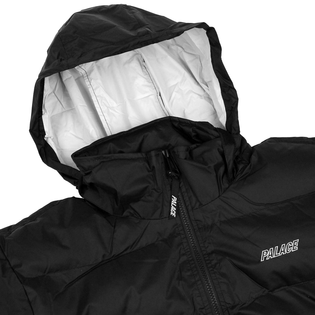 Palace Puffa Jacket in Anthracite - Hood