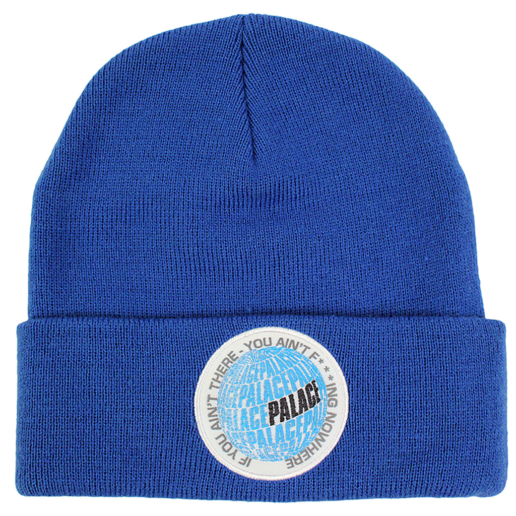 Palace If You Ain't There Beanie in Blue