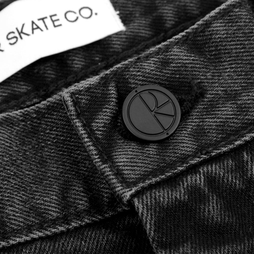 Polar Skate Co 90's Jeans in Black - Button