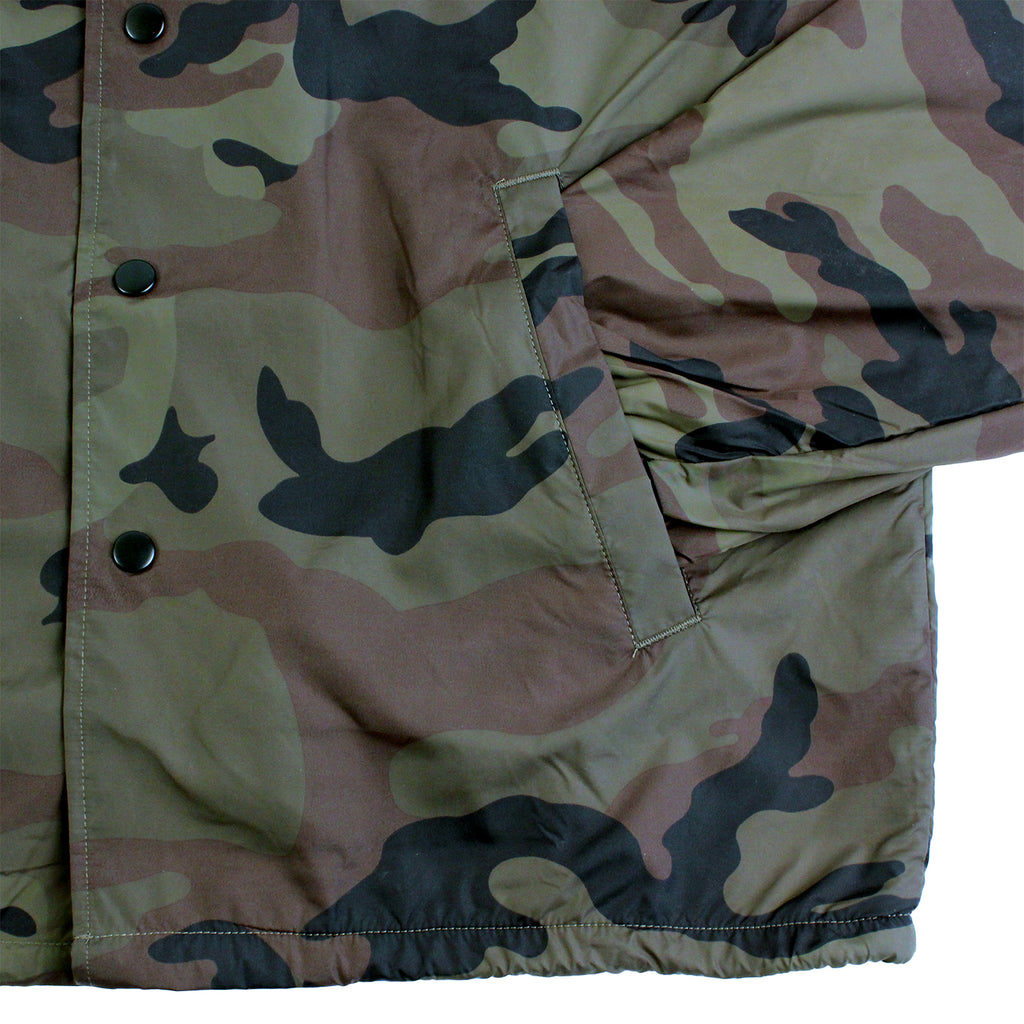 Thrasher Skategoat Coaches Jacket in Camo - Pocket