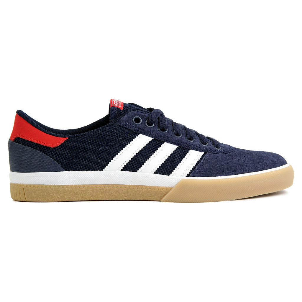 Adidas Lucas Premiere ADV Shoes - Collegiate Navy / White / Scarlet - Gum