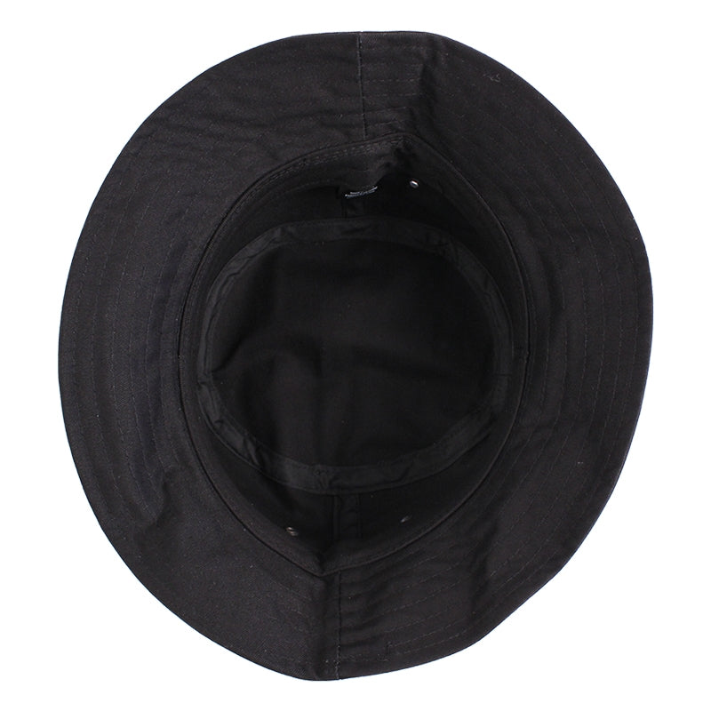 Palace Bucket Hat in Black - Inside