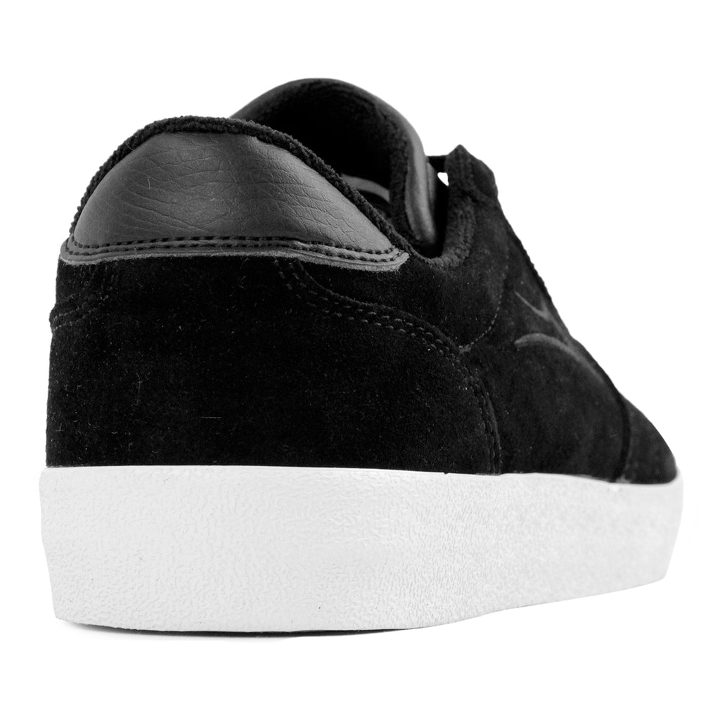 Lakai Anchor Salford Shoes in Black Suede - Heel