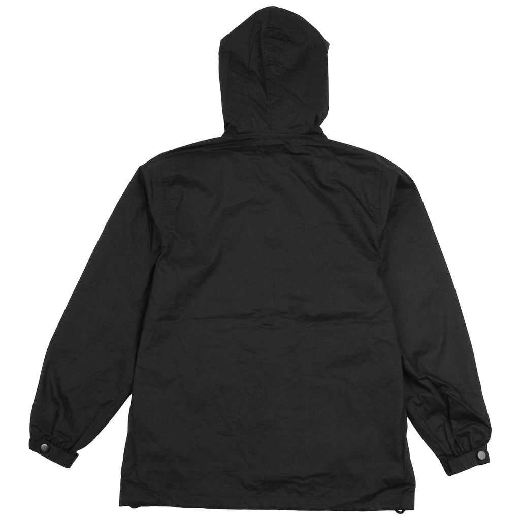 Helas Badman Hooded Coach Jacket in Black - Back