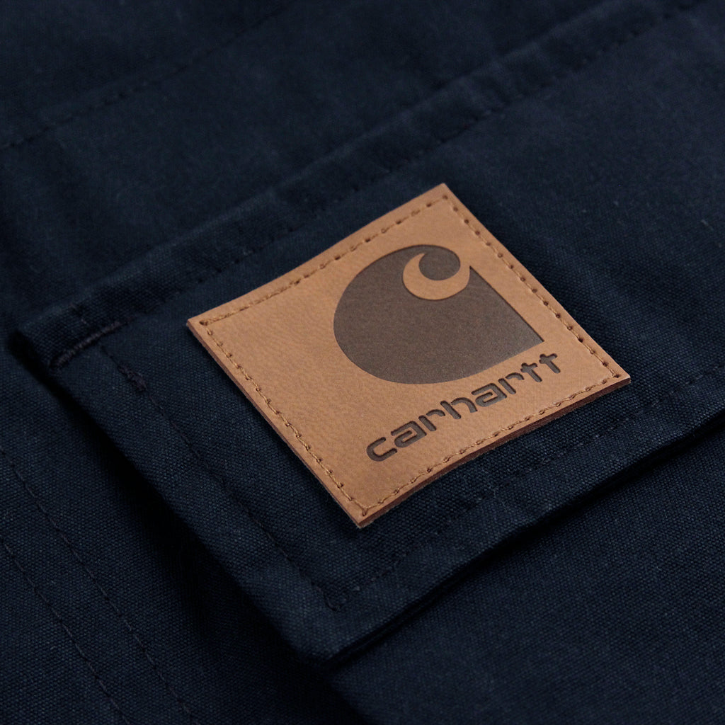 Carhartt Mentley Jacket in Navy - Label