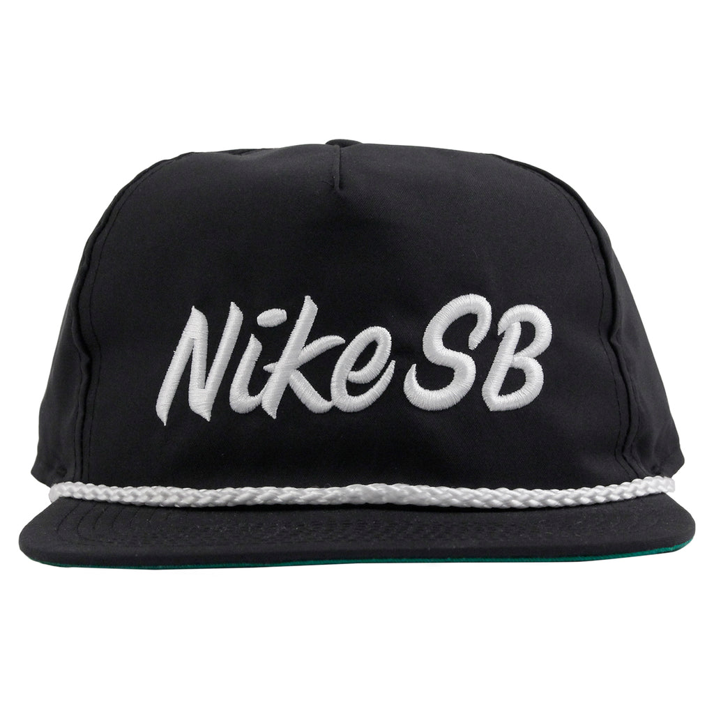 Nike SB Unstructured Dri-Fit Pro Cap in Black - Front