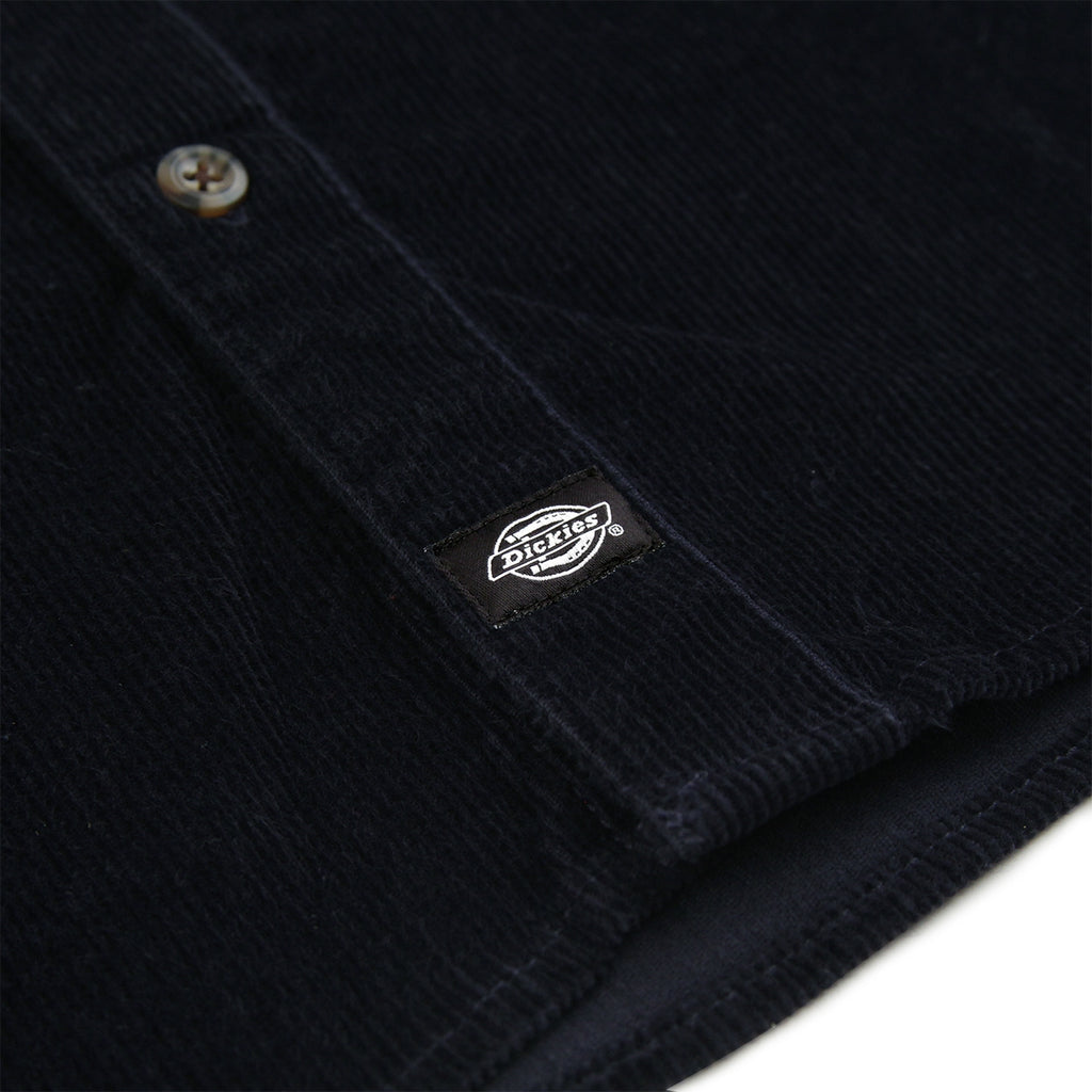 Dickies Arthurdale Shirt in Dark Navy - Label