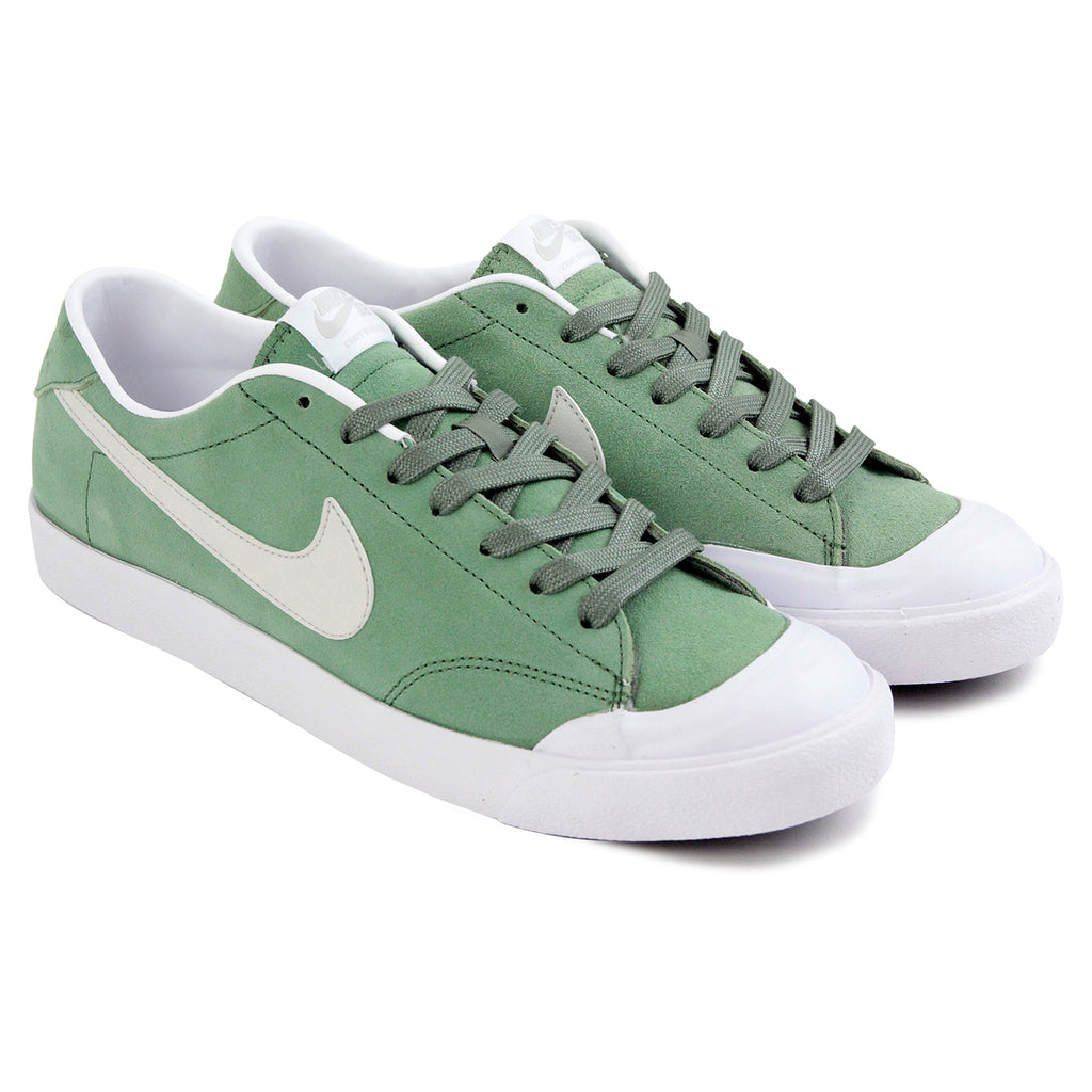 Nike SB Cory Kennedy Shoes in Treeline / Light Bone - White - Paired