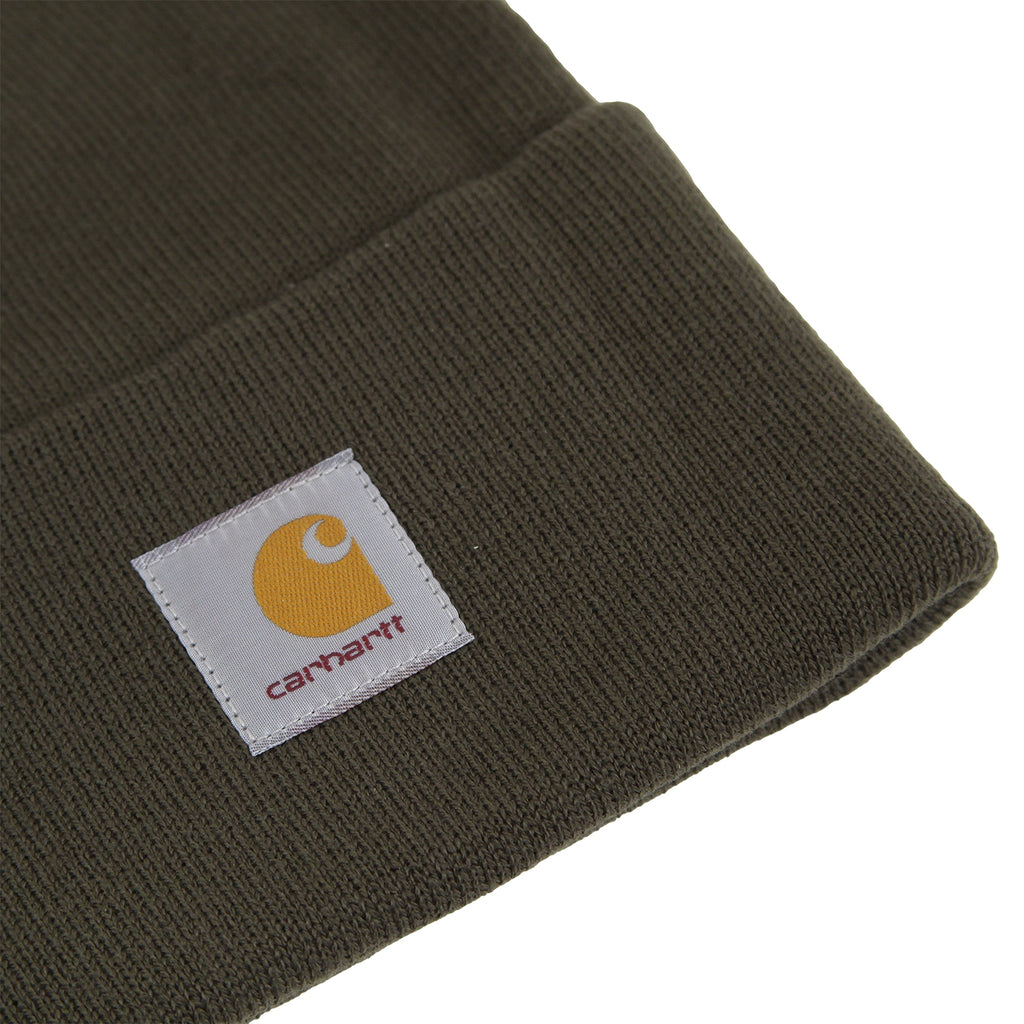 Carhartt Watch Hat in Cypress - Detail