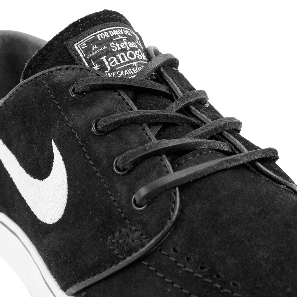 Nike SB Stefan Janoski OG Shoes in Black / White - Gum Light Brown - Detail