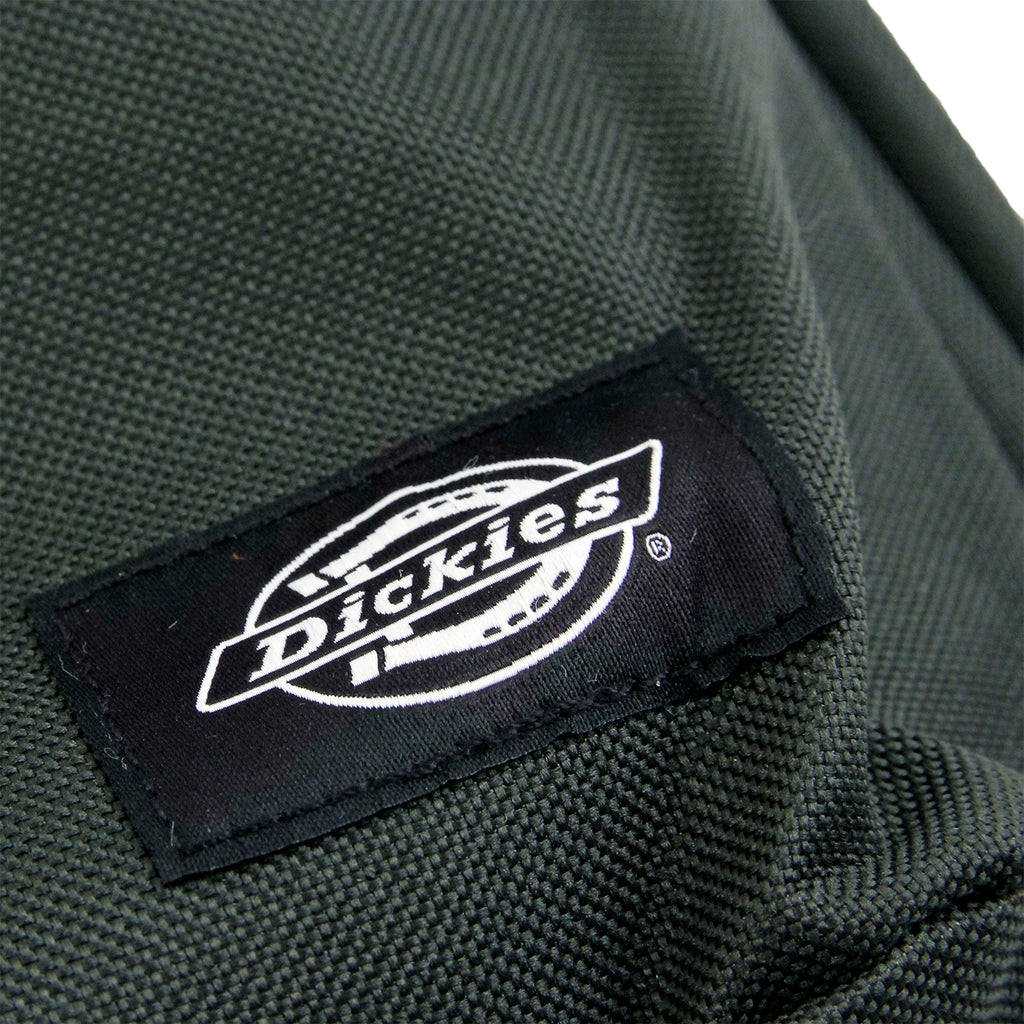 Dickies Indianapolis Backpack in Olive Green - Label