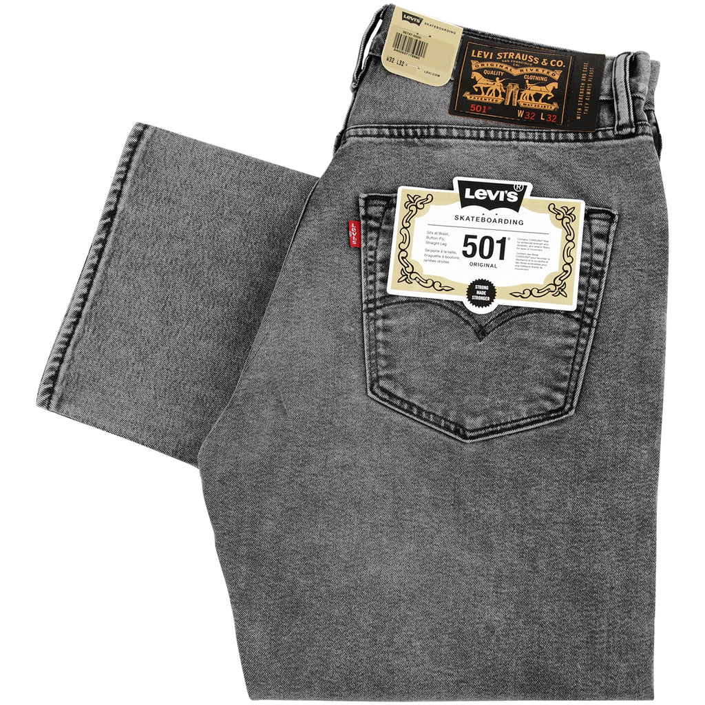 Levis Skateboarding 501 Jeans in No Comply