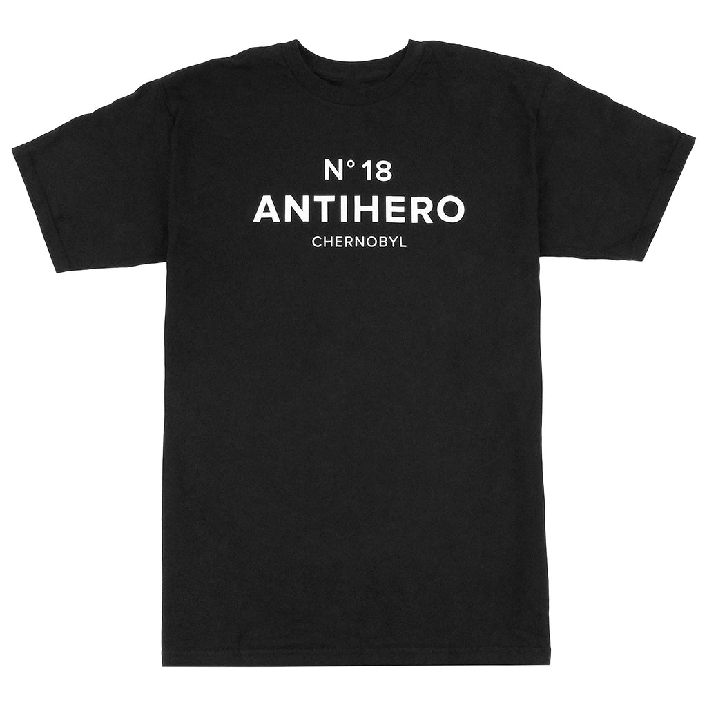 Anti Hero Skateboards Chernobyl Hero No. 18 T Shirt in Black