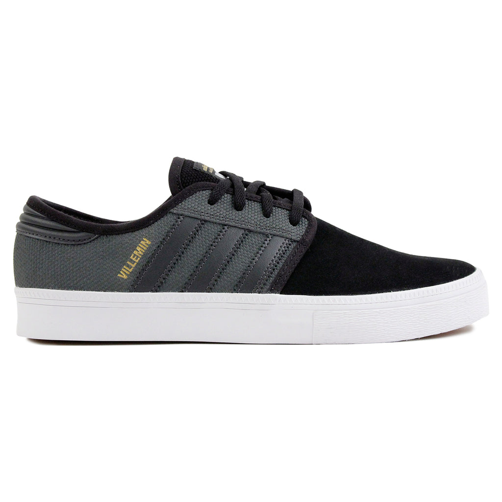 Adidas Skateboarding Seeley ADV Pro Villemin Shoes in DGH Solid Grey / DGH Solid Grey / Core Black