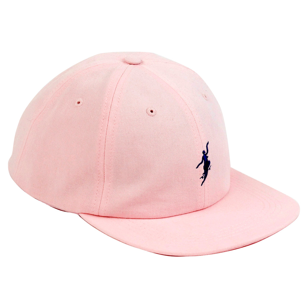 Polar Skate Co No Comply Cap in Pastel Pink