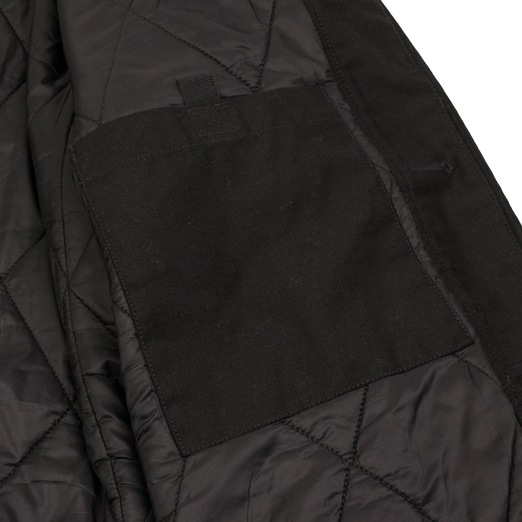 Carhartt Harris Trenchcoat in Black - Inside pocket