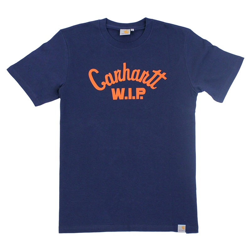 Carhartt WIP Window Script T Shirt in Juniper
