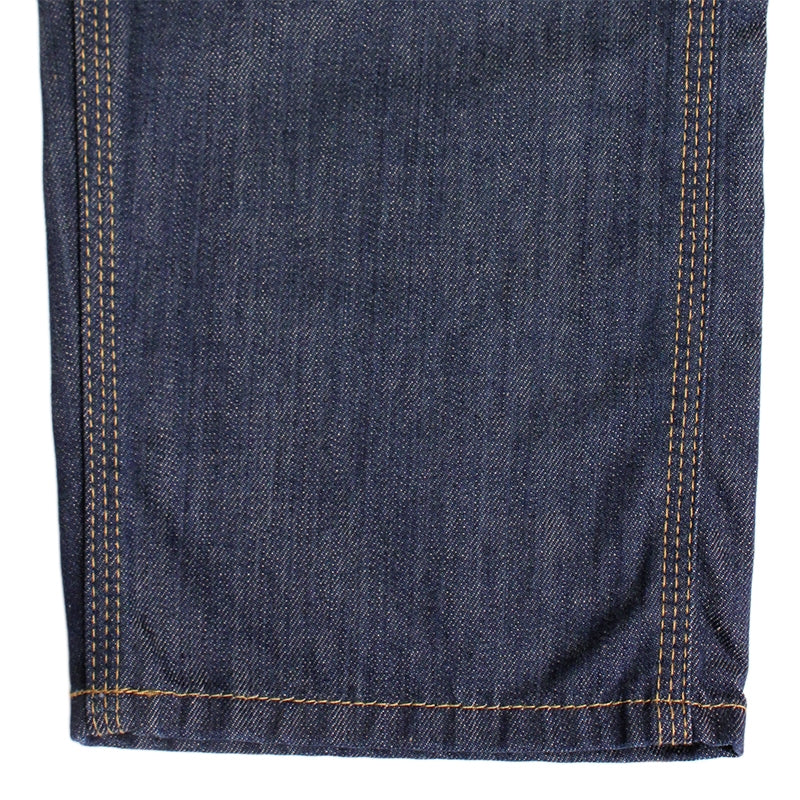 Carhartt WIP Lincoln Simple Pant in Blue / Rinsed - Cuff