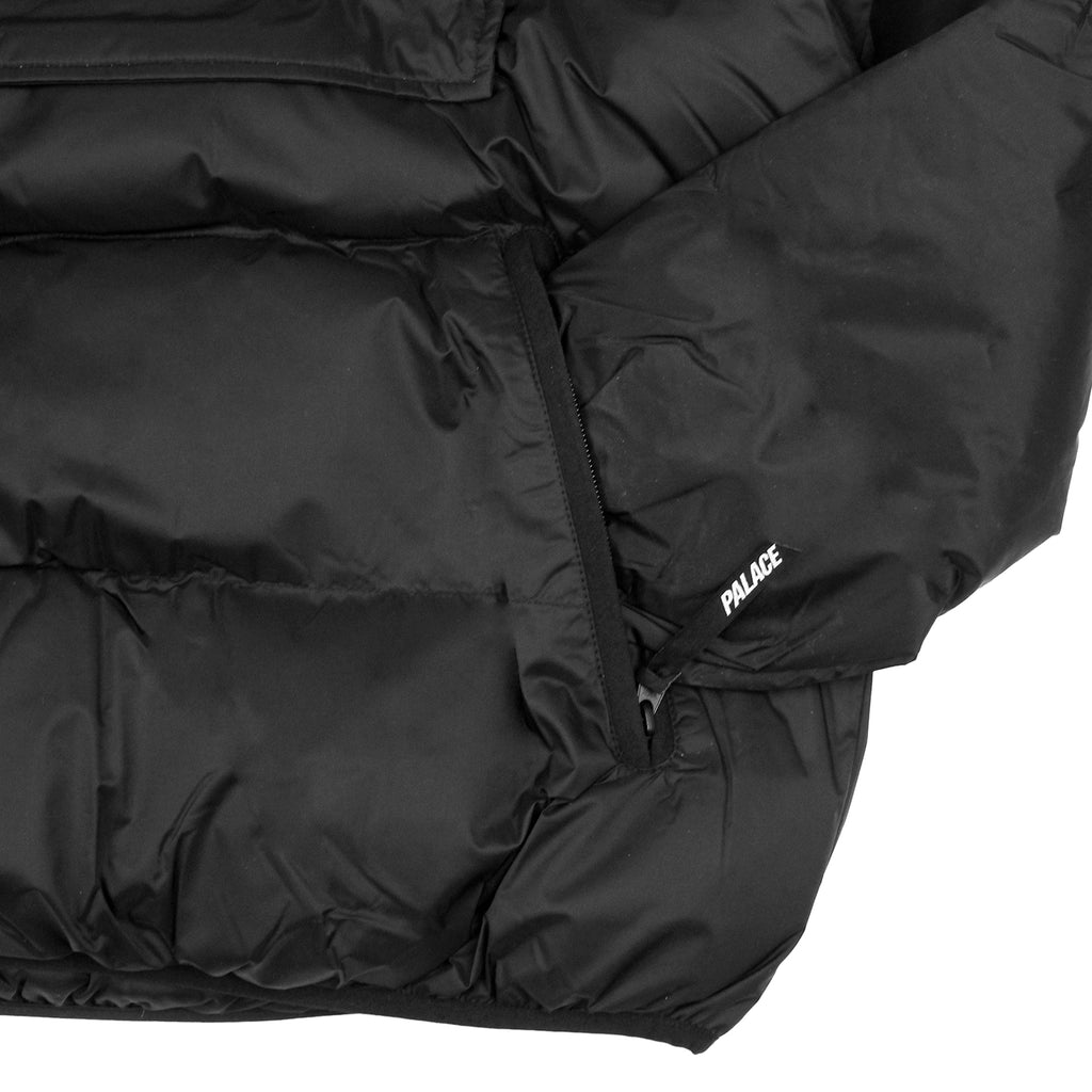 Palace Puffa Jacket in Anthracite - Cuff
